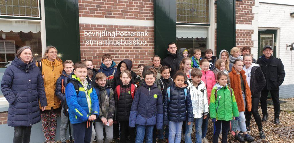 Centrum 40 45 Bevrijding Posterenk Sint Martinus school Bussloo Kijk in Posterenk