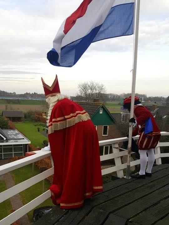 Sinterklaas bezoekt ieder jaar de Speeltuin, WilperMolen en Pampus Posterenk